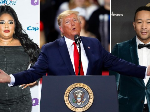 Lizzo and John Legend quite chilled as celebrities respond to Donald Trump's impeachment