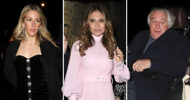 Ellie Goulding and Ayda Field mingled with royals at Princess Beatrice's engagement party