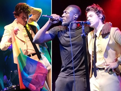 Harry Styles brings surprise guest Stormzy to intimate London gig for 1500 fans at the Electric Ballroom
