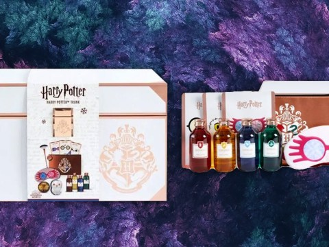 Boots is selling a Harry Potter beauty gift set for £25