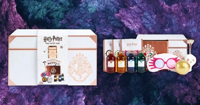 The Harry Potter beauty set at Boots