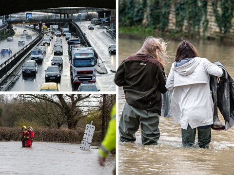 Weekend of travel chaos expected as flooding worsens across England