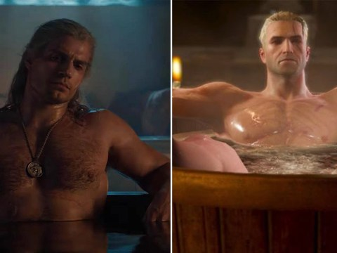 The Witcher showrunner is all of us as she admires sexy bathtub meme