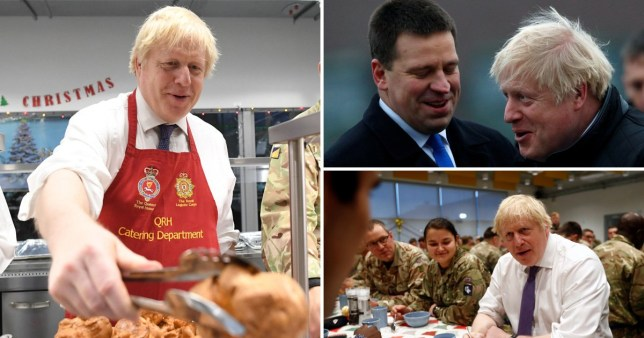 Boris Johnson visited Estonia after his Brexit Bill passed in the House of Commons (Picture:PA)
