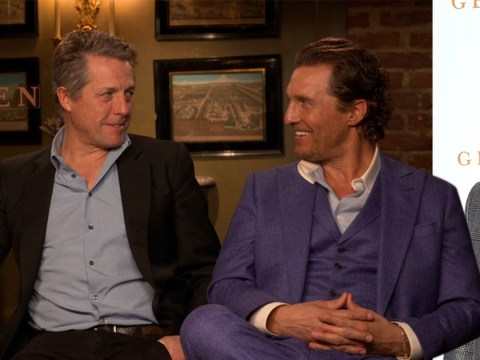Hugh Grant and Matthew McConaughey reveal Guy Ritchie 'didn't have a script' for The Gentlemen
