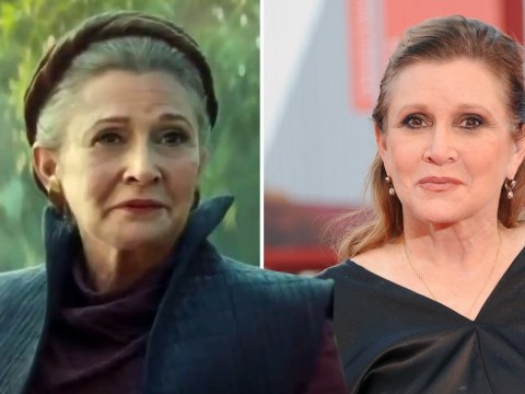 Carrie Fisher's scenes in The Rise Of Skywalker is a lesson in farewells – but don't screw it up, Hollywood
