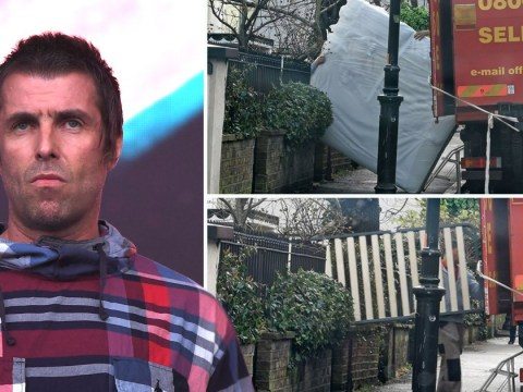 Liam Gallagher denies moving out of his house over 'rows' and says 'the future is looking bright'