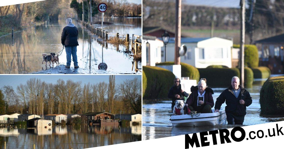 Hundreds of flood alerts force residents to leave homes before Christmas