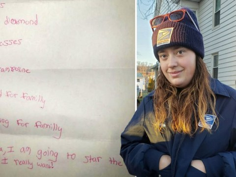 Postal worker finds child's letter to Santa asking for 'food for family' and takes action