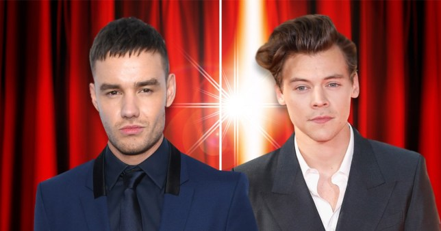 Liam Payne and Harry Styles were competing for album success