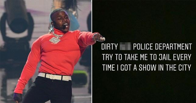 Rapper DaBaby