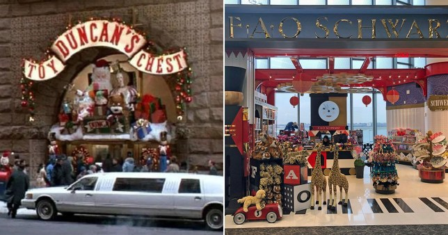 Comp of Duncan's Toy Chest from Home Alone 2: Lost In New York and FAO Schwarz