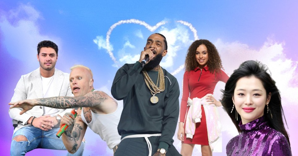 Celebrity deaths 2019