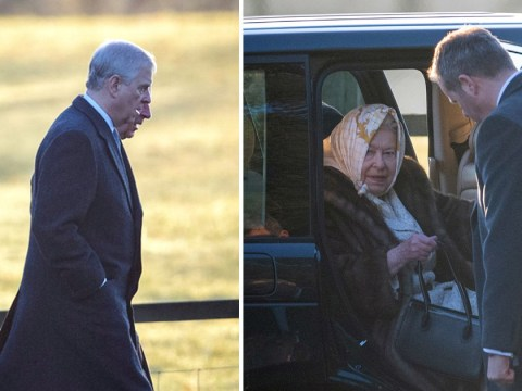Prince Andrew joins Royal Family for Sandringham Christmas service