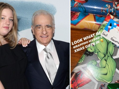 Martin Scorsese's daughter expertly trolls him with Marvel-wrapped Christmas presents