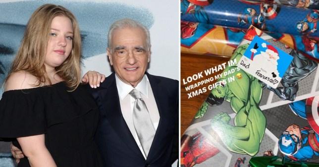 Martin Scorsese\'s daughter trolls him