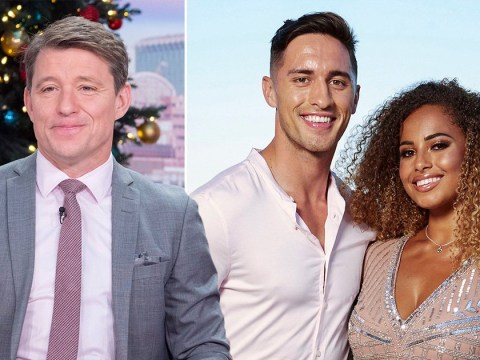 Love Island winner Amber Gill squirms over Ben Shephard's awkward Greg O'Shea question: 'We have more interesting things to talk about'