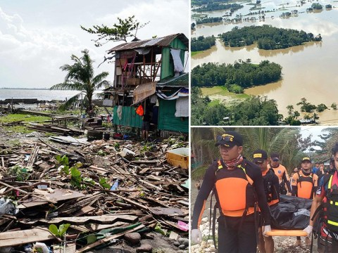Death toll from Christmas typhoon in The Philippines rises to 28