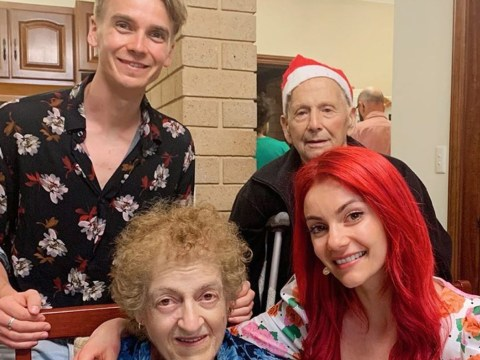 Strictly's Dianne Buswell shares heartbreaking tribute as her grandad dies days after Christmas