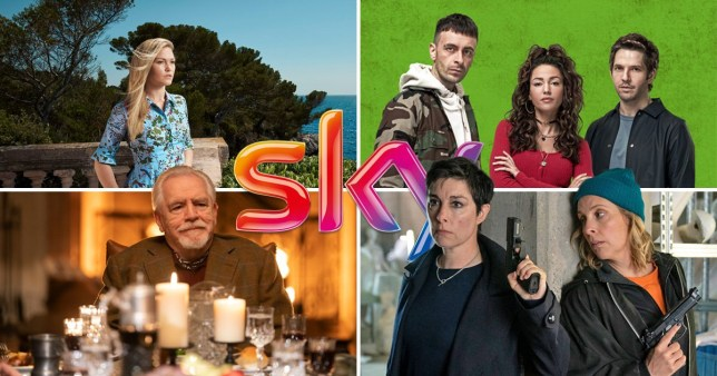 Succession, Riviera, Hitmen, Brassic on Sky TV.