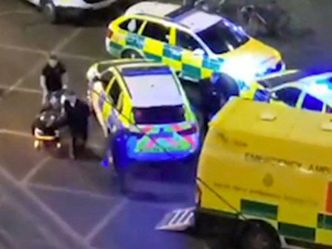 Boy, 16, stabbed repeatedly outside Manchester shopping centre