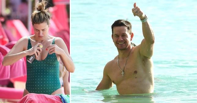 Mark Wahlberg and his wife Rhea