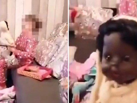 Woman says video of sister, 7, screaming as she opened black doll isn't racist