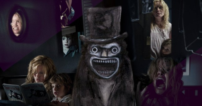 Photo of scenes from Babadook