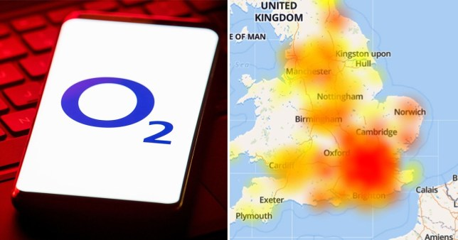 o2 network issues