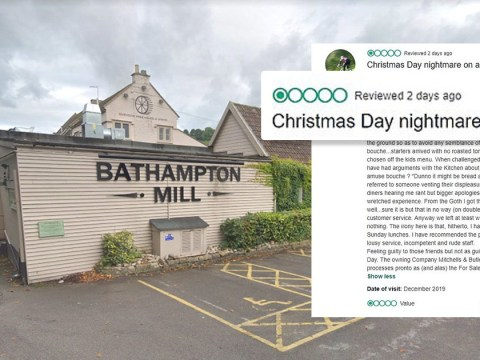 Family experience 'worst Christmas Day ever' at restaurant