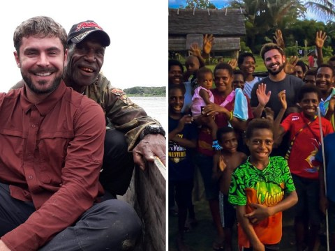 What happened to Zac Efron and did he get ill in Papua New Guinea?