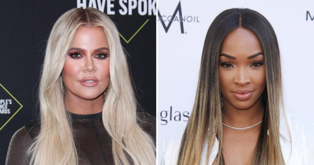 Khloe Kardashian shares the love with bestie Malika Haqq