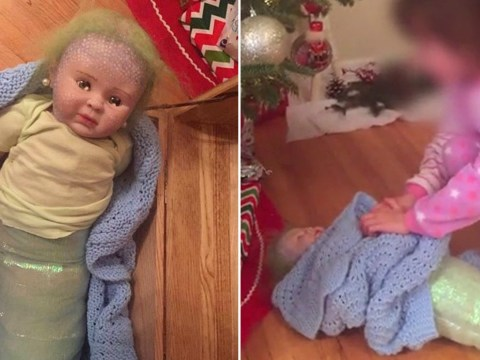 Mum accidentally buys cocaine-filled doll for daughter's Christmas present