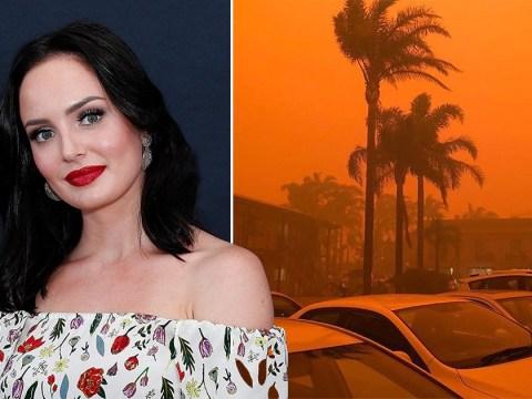 YouTuber Chloe Morello's hometown faces 'total devastation' in Australian wildfires
