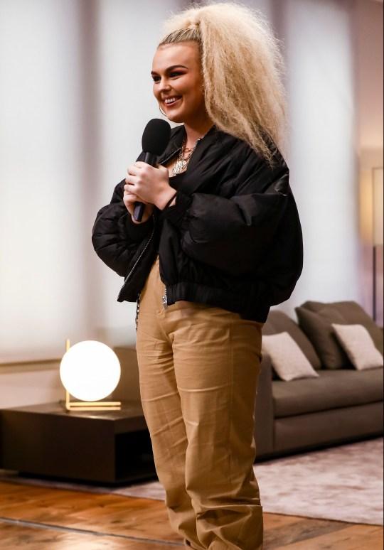 Tallia Storm on X Factor