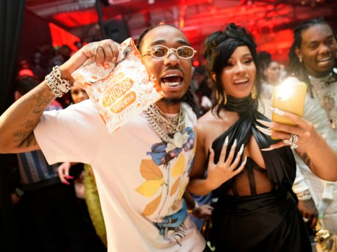 Cardi B dances with strippers at husband Offset's wild birthday party and we expect nothing less