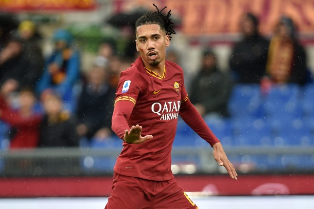 Arsenal are keeping tabs on Chris Smalling's progress at Roma