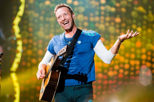 SAO PAULO, BRAZIL - NOVEMBER 7: Chris Martin of Coldplay performs live on stage at Allianz Parque on November 7, 2017 in Sao Paulo, Brazil. (Photo by Mauricio Santana/Getty Images)