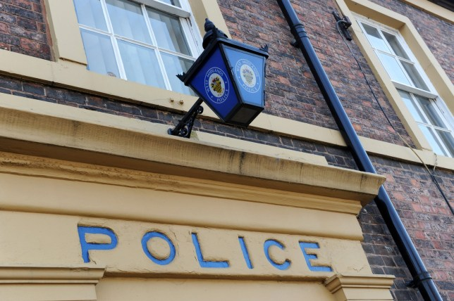 Mandatory Credit: Photo by David Bagnall/REX (1906457aa) Bilston in the West Midlands England Uk the former police station which was under siege from rioters in 1919 Various - 2011