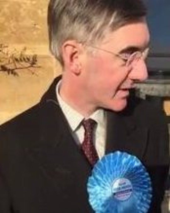 Guys, we've found Jacob Rees-Mogg, but he's already done another runner Picture: BathLabourParty