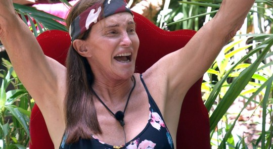 STRICT EMBARGO - NOT TO BE USED BEFORE 22:30 GMT, 02 Dec 2019 - EDITORIAL USE ONLY Mandatory Credit: Photo by ITV/REX (10489708gm) Post-Trial - Caitlyn Jenner 'I'm a Celebrity... Get Me Out of Here!' TV Show, Series 19, Australia - 02 Dec 2019