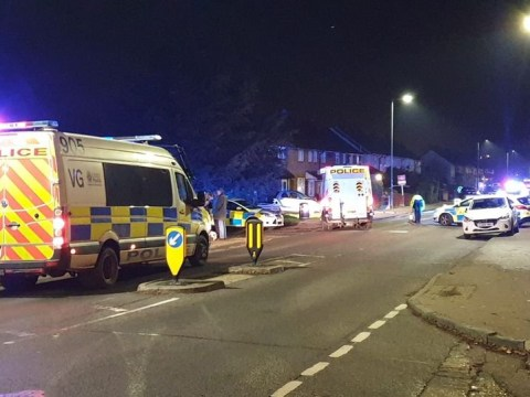 'Multiple children' hit by car after it mounted pavement outside school