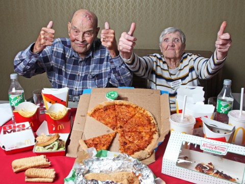 99-year-old man who had never tried fast food reviews takeaways for bucket list wish