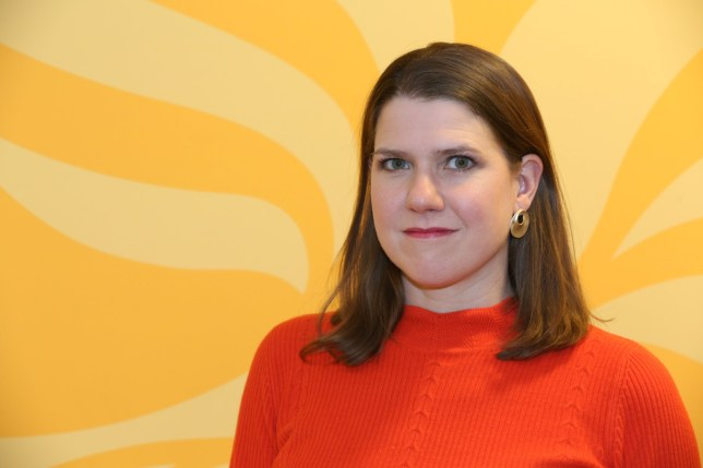 Ms Swinson refused to say if she would step down in the event her party lost seats at the election