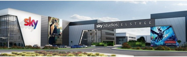 Plans for sky's major new film and TV studio in Elstree