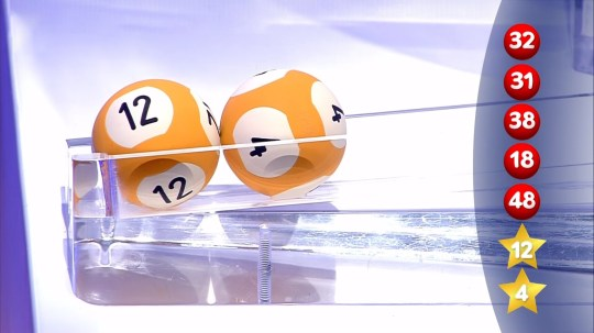 EuroMillions lottery draw 03.12.19 (Picture: National Lottery)