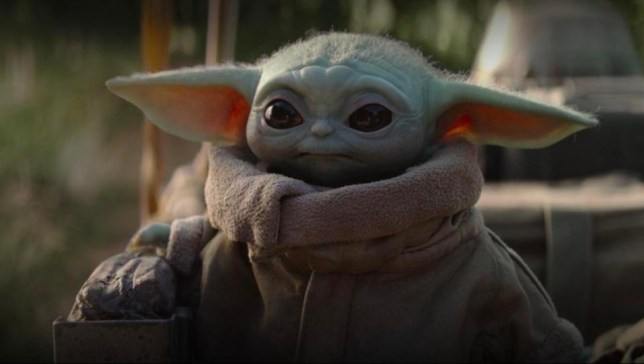 Image result for baby yoda biting
