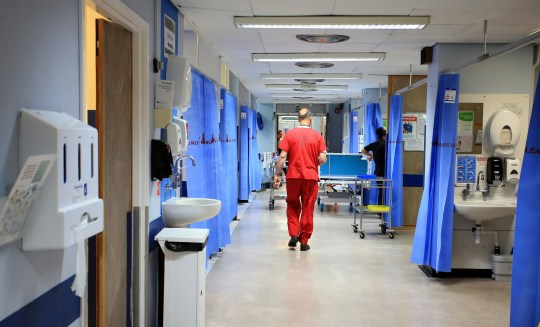 """File photo dated 03/10/14 of a hospital ward. Around a quarter of UK hospital staff were born abroad, according to new figures showing how immigration has helped stop """"almost unimaginable"""" shortages in the NHS workforce. PA Photo. Issue date: Wednesday December 4, 2019. Around half of the increase in the health and social care workforce over the last decade has been from workers born outside the UK, according to figures from the Office for National Statistics. See PA story HEALTH Immigration. Photo credit should read: Peter Byrne/PA Wire"""