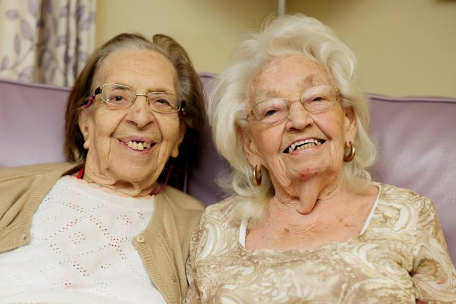 Best friends of 78 years move into the same care home to hang out and cause mischief