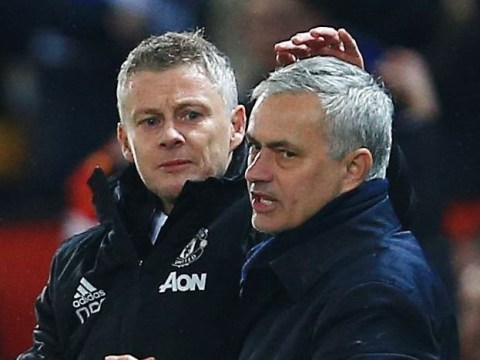 Jose Mourinho takes sly dig at 'defensive' Manchester United boss Ole Gunnar Solskjaer